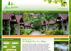 The Delight Pine Tree Village